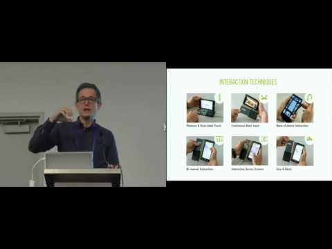 FlexCase: Enhancing Mobile Interaction with a Flexible Sensing and Display Cover