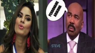 ERROR EN MISS UNIVERSO 2015 DE STEVE HARVEY .Epic Fail Miss Universe 2015