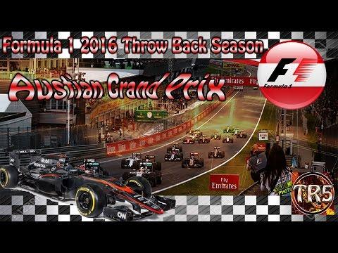 Formula 1 2016  - Throw back Season - Austria