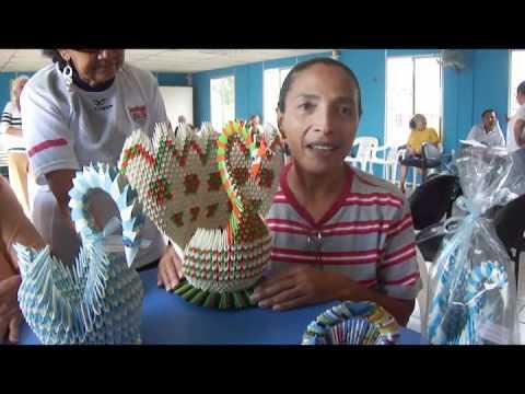 Origami adultos mayores youtube - Manualidades para adultos ...