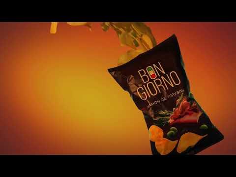 Рекламный ролик для BON GIORNO