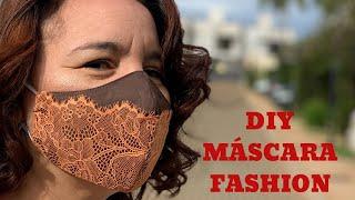 Como Fazer Máscara Bico de Pato Fashion e Estilosa Free Pattern