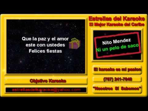 Karaoke Nito Mendez - Ni un pelo de saco