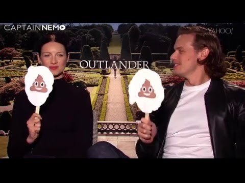 Funny outtakes: 'Outlander or Outlandish' on Yahoo TV [RUS SUB]