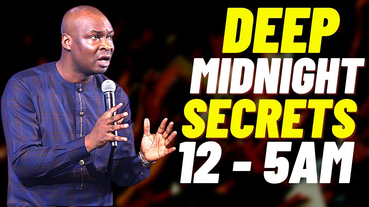 Download [12:00] MIDNIGHT WARFARE SECRETS FOR YOUR LIFTING | APOSTLE JOSHUA SELMAN