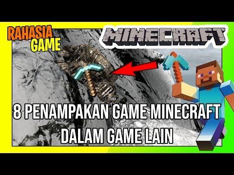 8 Penampakan Minecraft Di Game Lain | Ada Hampir Di Semua Game Terkenal