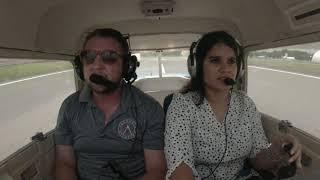 Priyanka's First Flight | Valkyrie Aviation | Cessna 150 | San Antonio | Texas