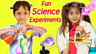 Kids Pretend Play School Teacher & Science Experiment | ToyStars