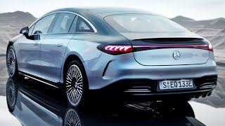 2022 Mercedes EQS - interior Exterior and Driving (Best Luxury Electric Car)