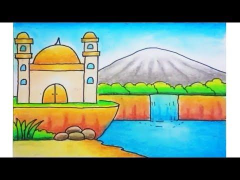 Gambar Masjid Yang Mudah Nusagates