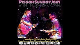 Sunday Jam w/ Paper Crowns @ Pisgah Brewing Co. 8-6-2017