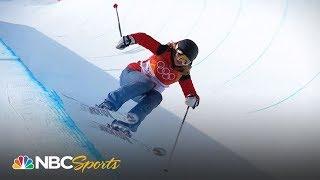 Breaking down Elizabeth Swaney's ski halfpipe run