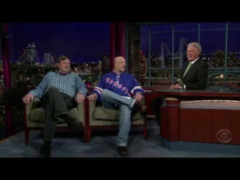 Chris Elliott and Gerard Mulligan spend the day with the NY Rangers