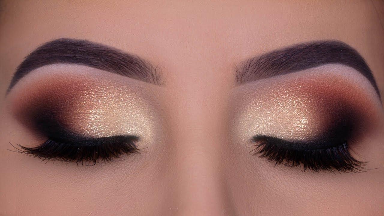 smokey glamorous eye makeup | bridal makeup inspiration