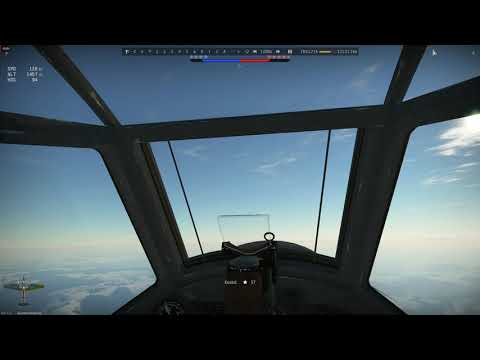 BF 110 My first VR simulator dogfight