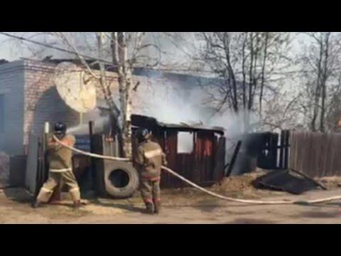 На Дальнем Востоке горят 5 жилых домов