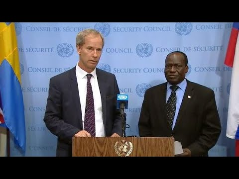 UN Security Council President and African Union on Security