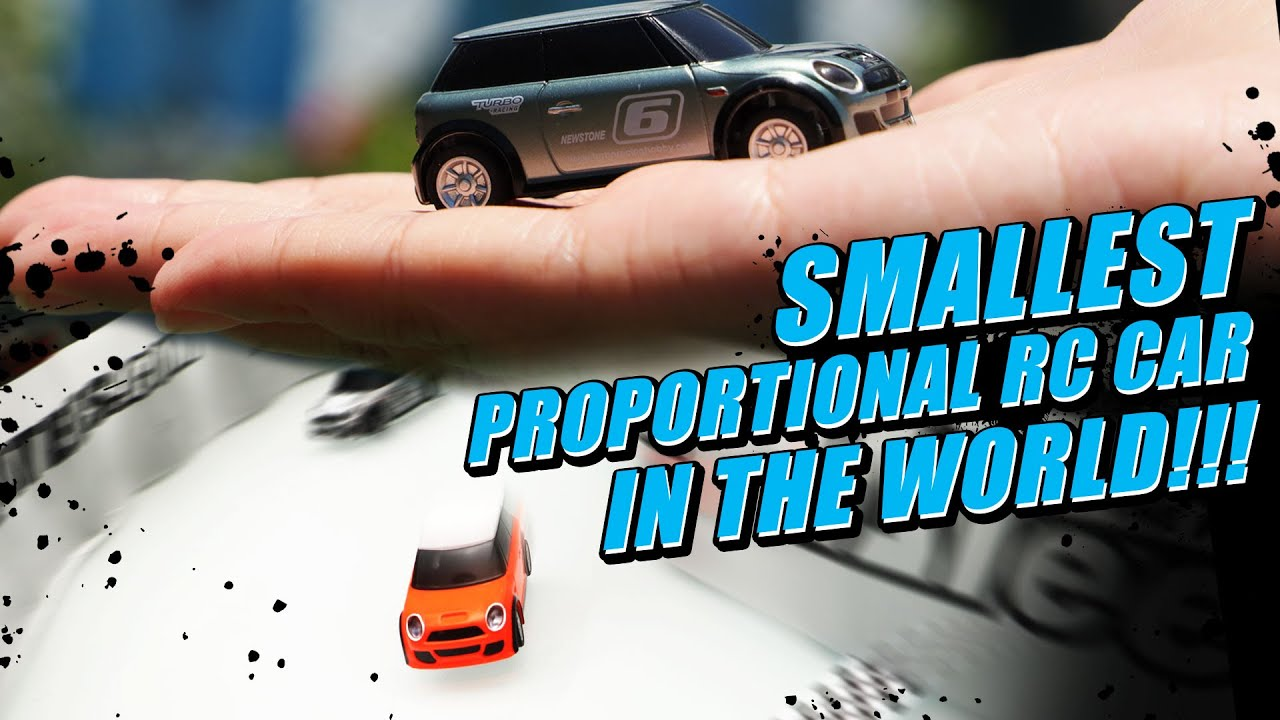 World's Smallest Finger-Sized 1:76 Proportional Mini R/C Car | Turbo Racing  - YouTube