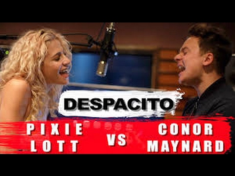 Despacito   mash up Conor Maynard vs pixie Lott lyrics
