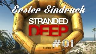 Erster Eindruck: Stranded Deep Early Access | Ep 01 | Gameplay/First Impression | deutsch/german