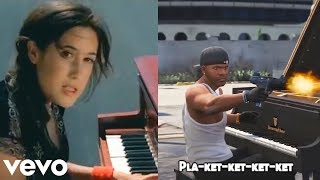 Making My Way Downtown but every 4 beats it turns into Pla-ket-ket-ket!