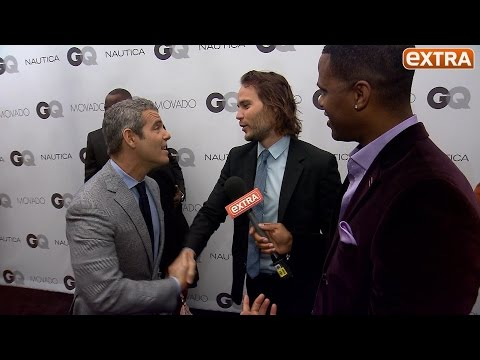 Andy Cohen Admits He Loves Taylor Kitsch, and We Force a Hilarious Meeting