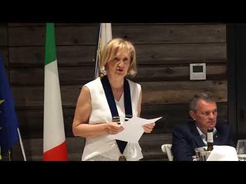 L'intervento di Laura Negri al Rotary club Badia-L...