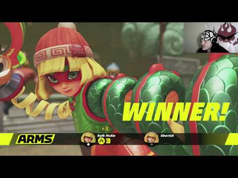 They knocked my block off! | Arms Global Test Punch | Part 01