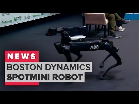Boston Dynamics demonstrates its SpotMini robot dog
