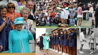 Why the Queen has only attended Wimbledon four times in her life