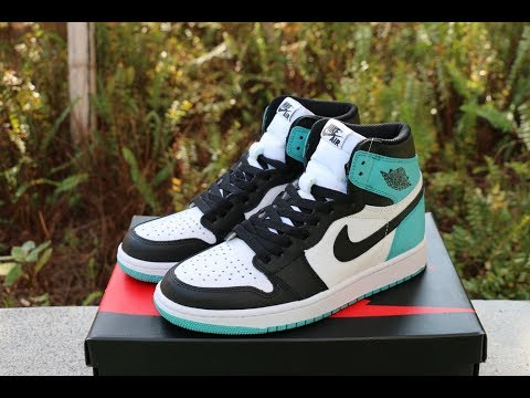 25e1fcf7666 Air Jordan 1 Retro High OG Igloo HD Review - YouTube