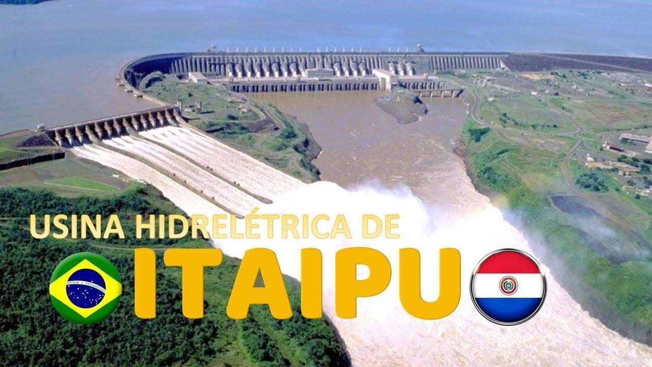 Usina Hidrel 201 Trica De Itaip 218 Brasil Itaipu