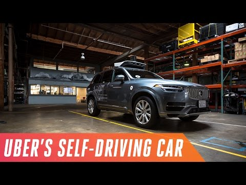Riding in Uber's self-driving cars