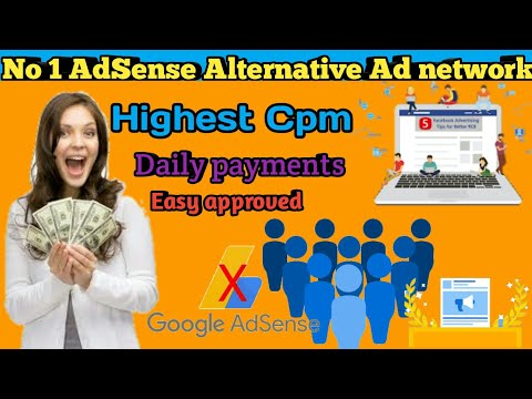 Top No #1 Best Ad Network With Fast Approval | Adsense Alternatives+highest Cpm & Daily Payments