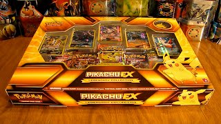 Pikachu EX Legendary Collection Box Opening