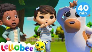 Old MacDonald Had A Farm Song - Nursery Rhyme & Kids Song - ABCs and 123s | Little Baby Bum