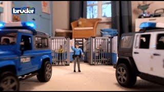 Bruder Toys bworld Police Station #62730