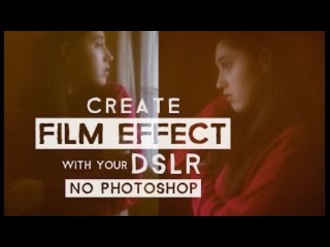 Photography Tips & Tricks | Film/Vintage Effect with No Photoshop