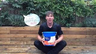 Benedict Cumberbatch Ice Bucket Challenge NO SLOW MOTION