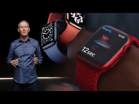 Apple Watch Series 6! Watch the full reveal here