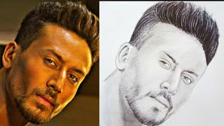 How To Make Tiger Shroff Drawing
