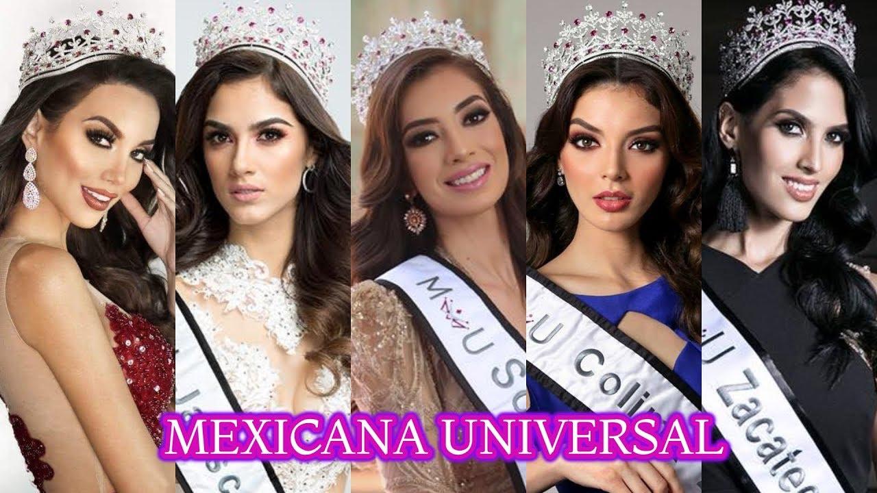 Colima triunfa en Mexicana Universal