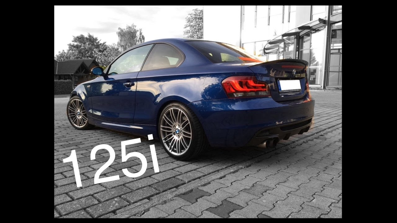 bmw e82 125i 130i performance exhaust sound kaltstart. Black Bedroom Furniture Sets. Home Design Ideas