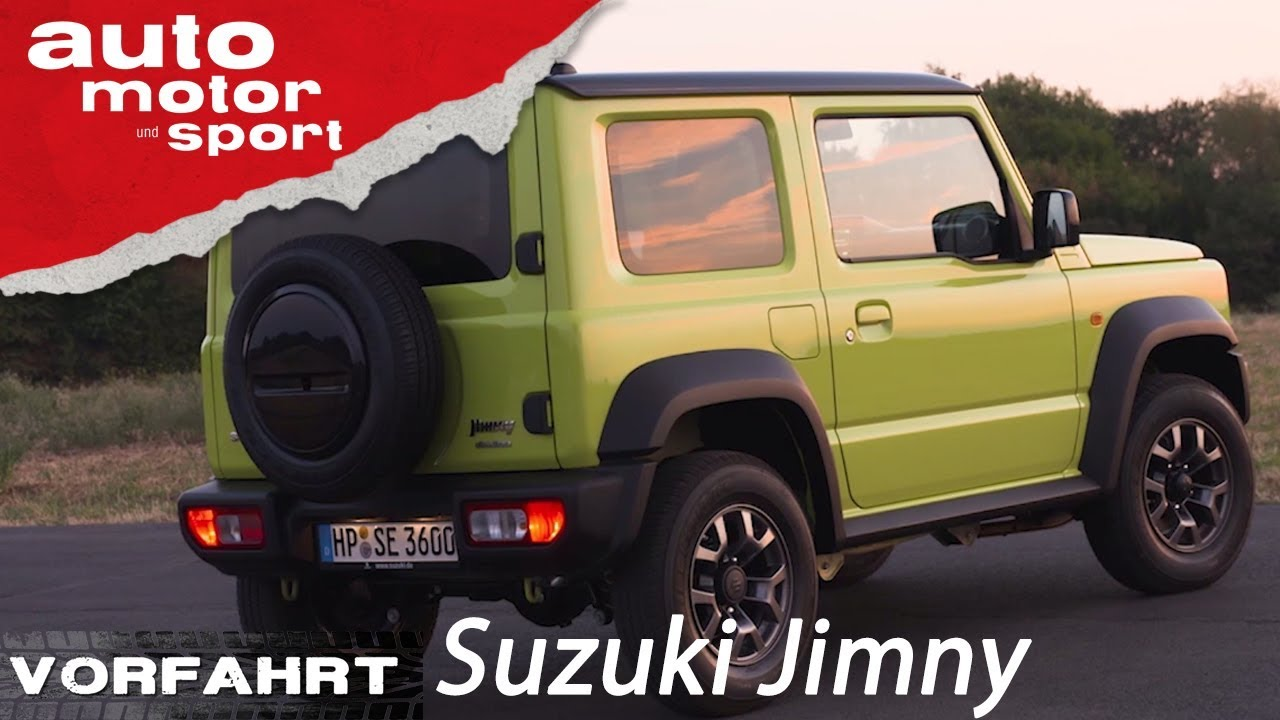 suzuki jimny 2018 eine kleine g klasse vorfahrt. Black Bedroom Furniture Sets. Home Design Ideas