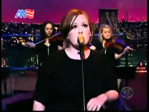 Adele   Hometown Glory Live on Late Show with David Letterman