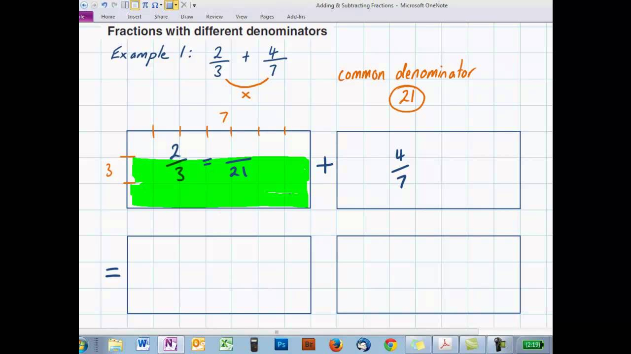 add subtract using diagrams  YouTube