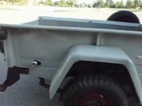 1948 Willys Overland Jeep Pick Up 1 4 Youtube
