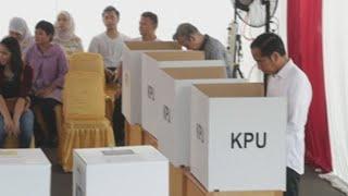 Joko Widodo, camino de renovar como presidente en elecciones de Indonesia
