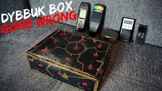 Opening a Real Cursed Dybbuk Box (Gone Wrong) 3AM Scary