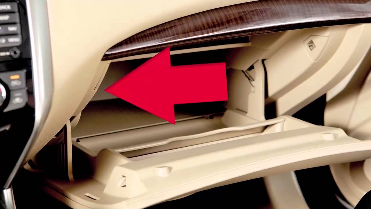 2014 Nissan Altima Trunk Release Power Cancel Switch